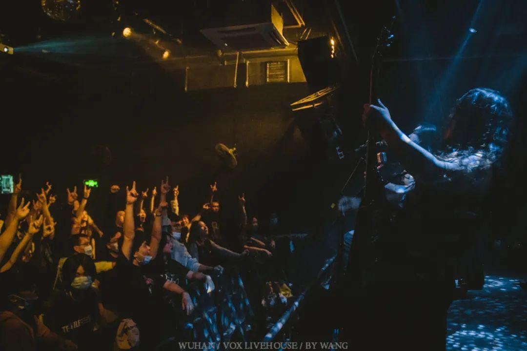 北京黑暗金属乐队灵迹武汉首演现场照片回顾